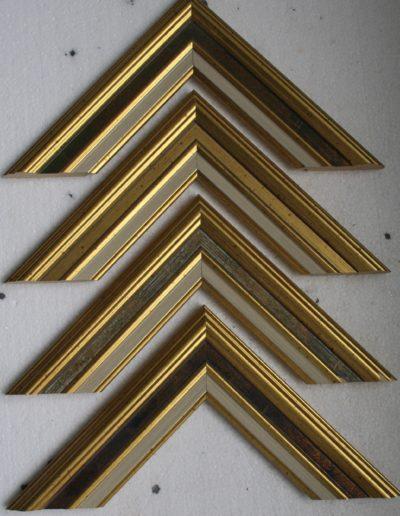 cadres classiques bordures dorées